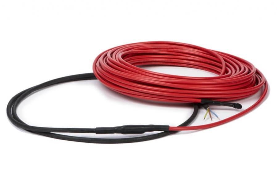 Теплый пол в стяжку (нагревательный кабель)