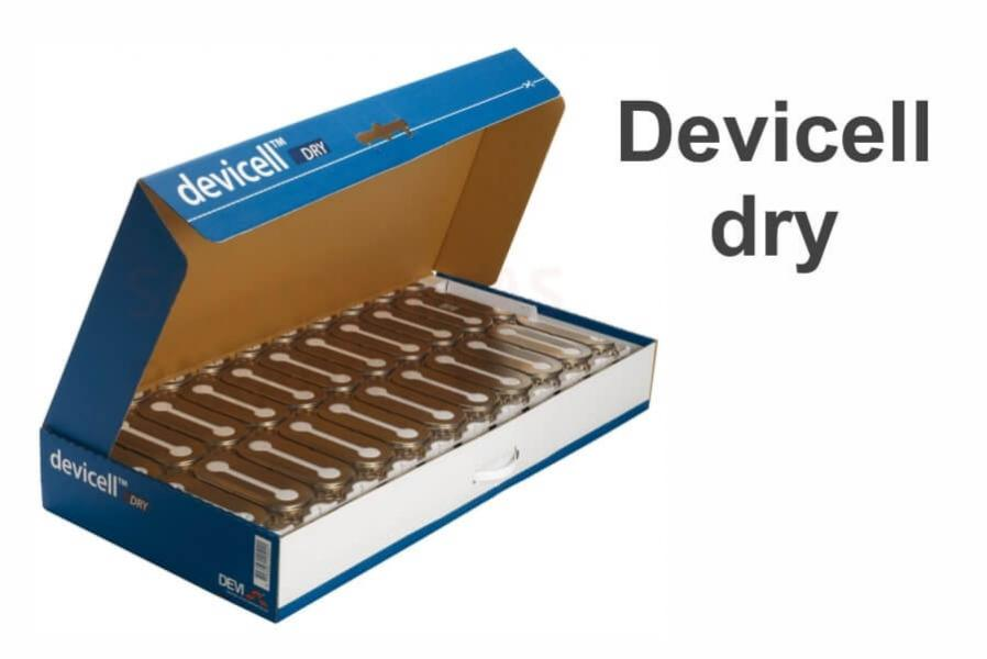 Devicell Dry (пластины для сухой установки)