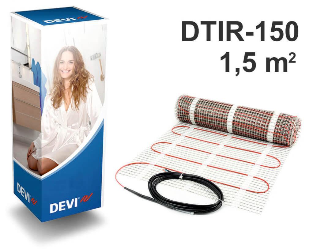 """DEVIcomfort™ 150T - 1,5 m2 """"Нагревательный мат"""""""