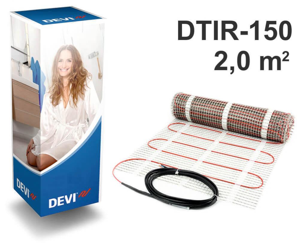 """DEVIcomfort™ 150T - 2,0 m2 """"Нагревательный мат"""""""