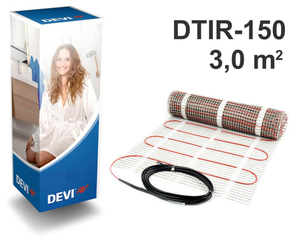 """DEVIcomfort™ 150T - 3,0 m2 """"Нагревательный мат"""""""