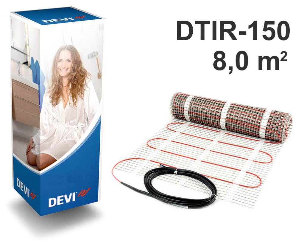 """DEVIcomfort™ 150T - 8,0 m2 """"Нагревательный мат"""""""