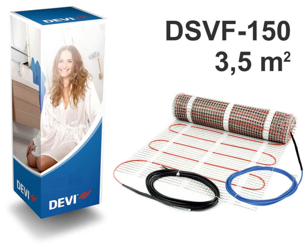 """DEVIheat™ 150S - 3,5 m2 """"Нагревательный мат"""""""