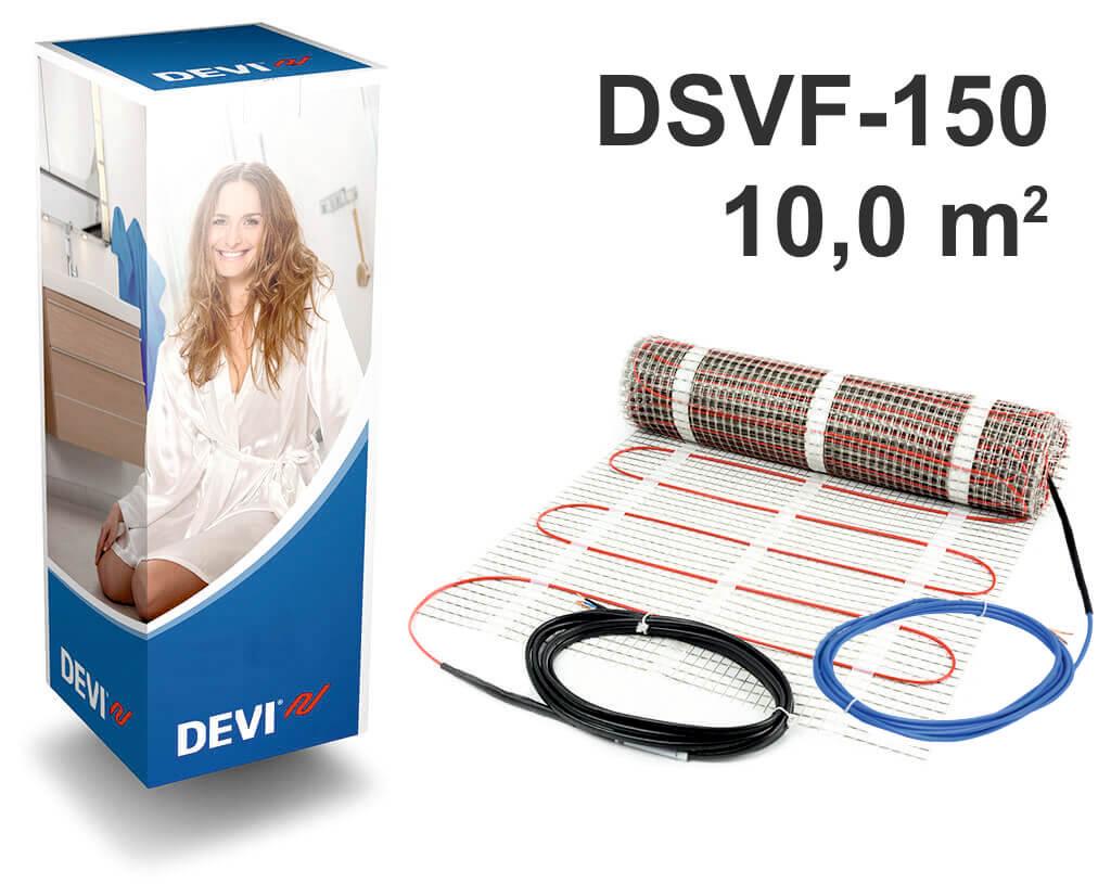 """DEVIheat™ 150S - 10,0 m2 """"Нагревательный мат"""""""