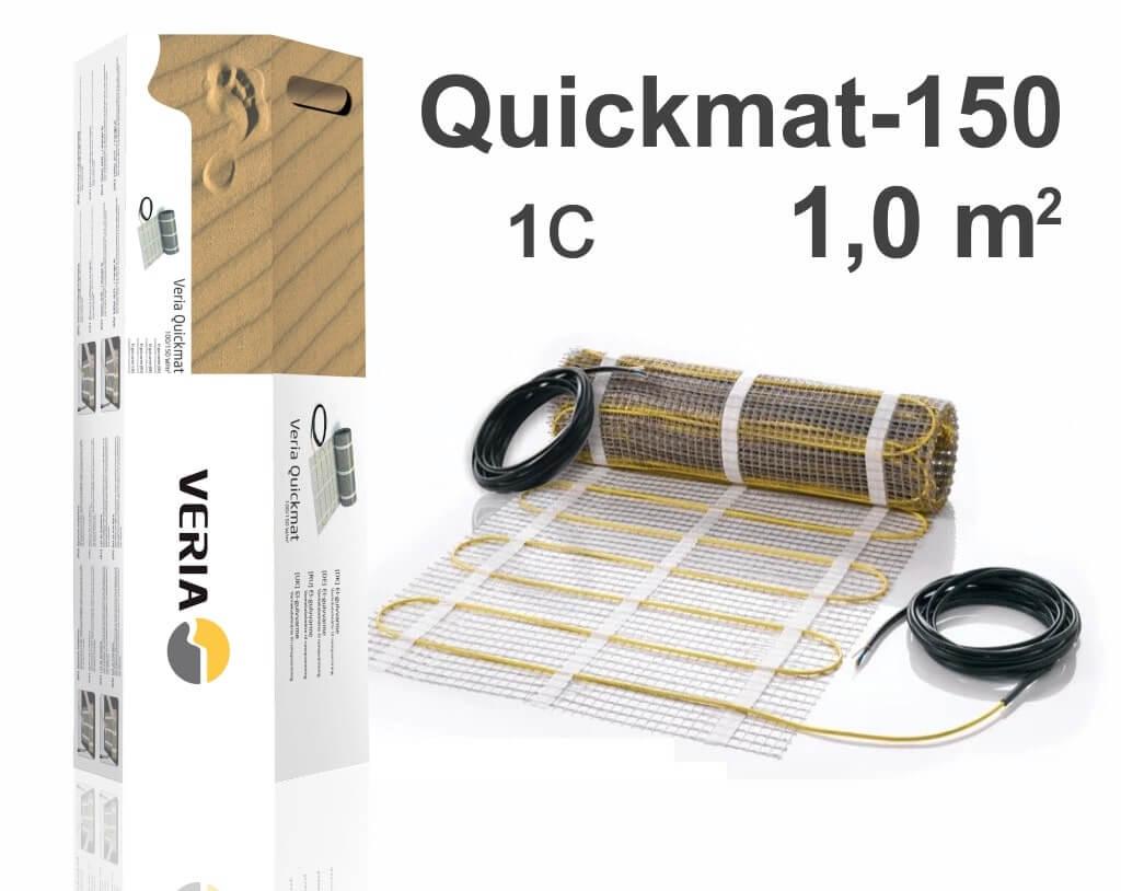 """Quickmat-150 1C - 1,0 m2 """"Нагревательный мат"""""""