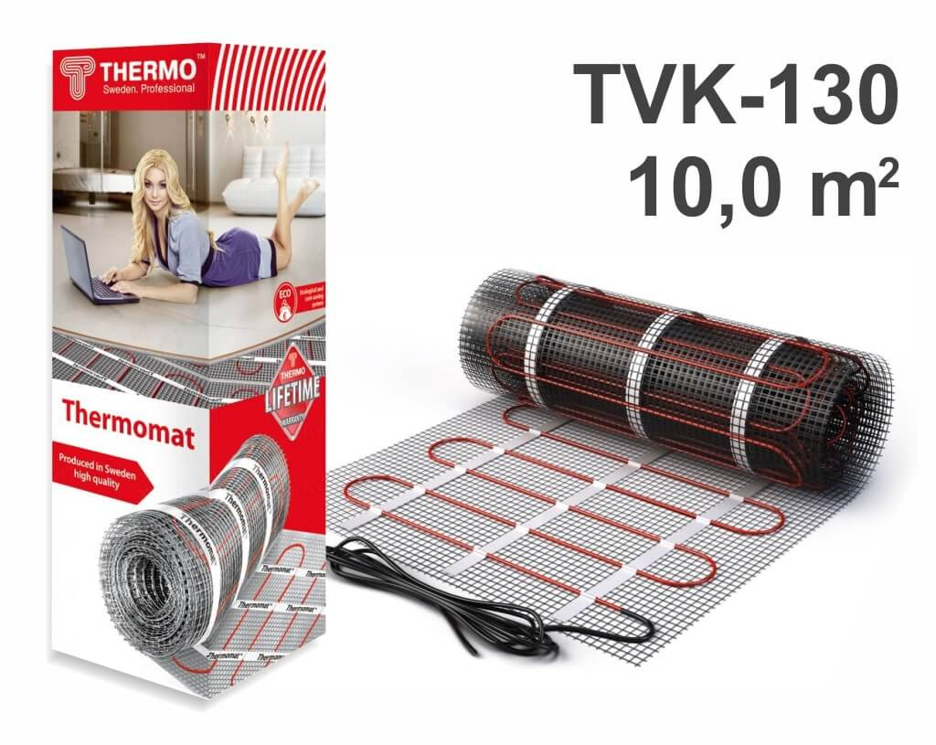 "Thermomat TVK 130 - 10,0 m2 ""Нагревательный мат"""
