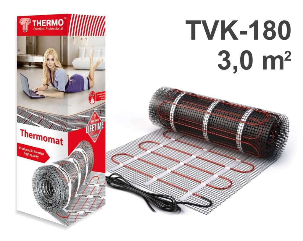 "Thermomat TVK 180 - 3,0 m2 ""Нагревательный мат"""