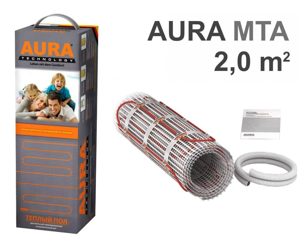 """AURA Heating MTA 300 - 2,0 m2 """"Нагревательный мат"""""""