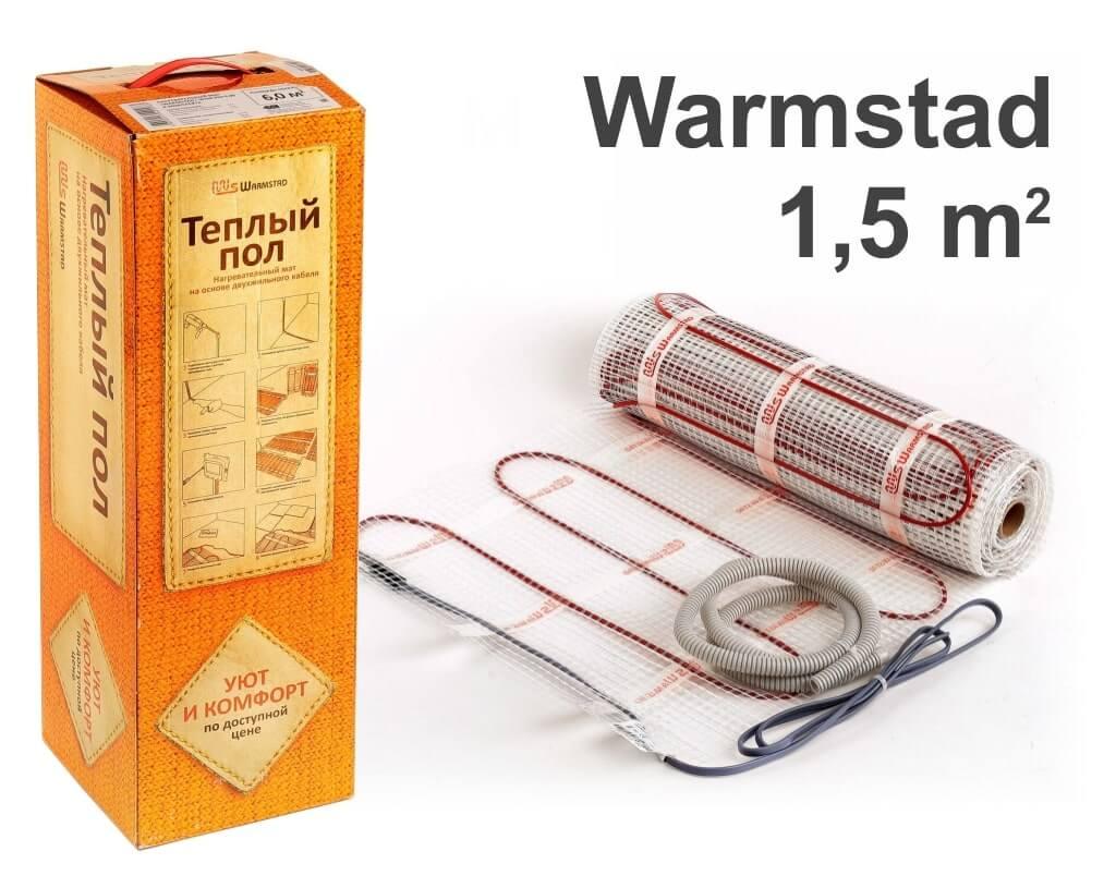 """Warmstad 150 - 1,5 m2 """"Нагревательный мат"""""""