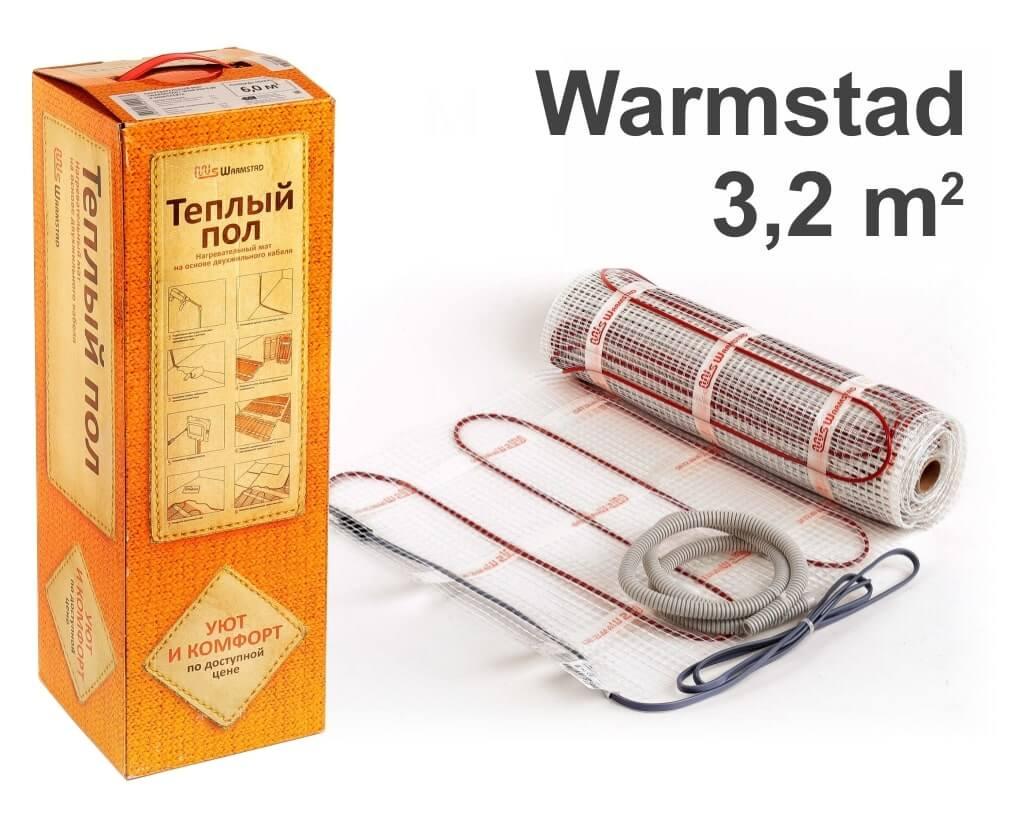 """Warmstad 150 - 3,2 m2 """"Нагревательный мат"""""""