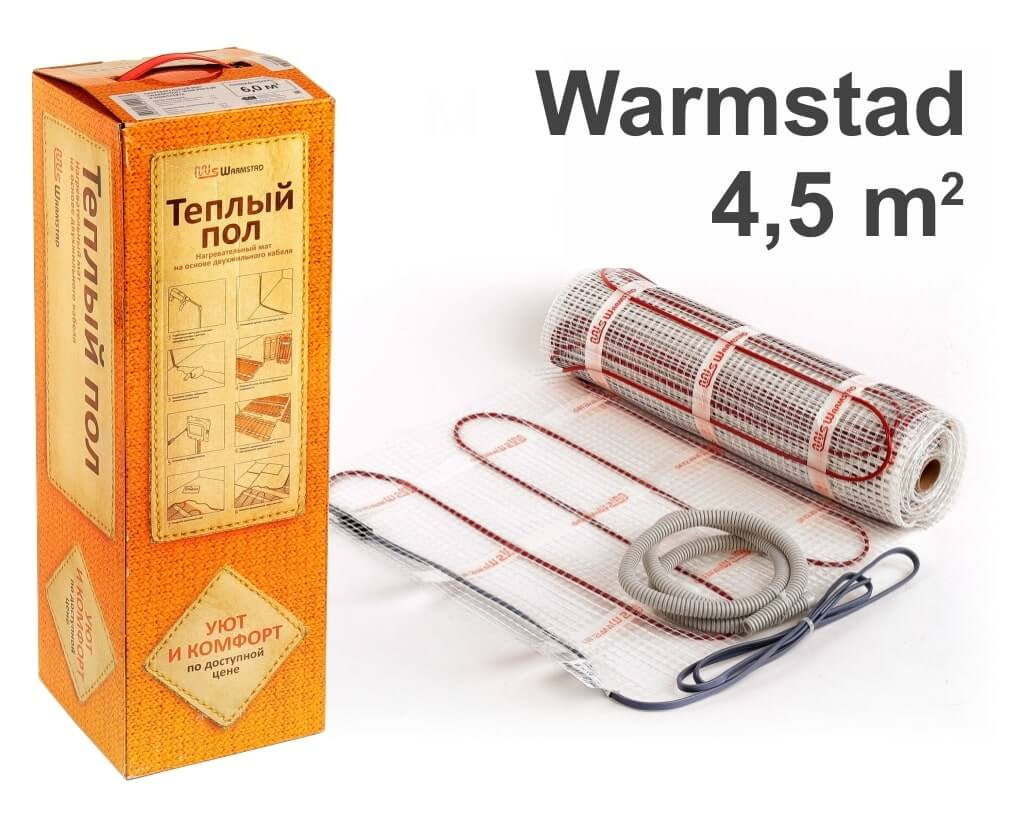 """Warmstad 150 - 4,5 m2 """"Нагревательный мат"""""""