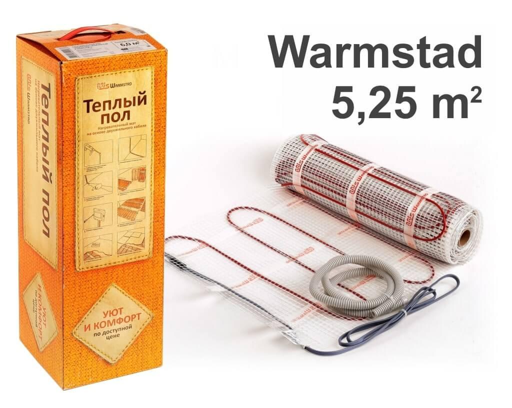 """Warmstad 150 - 5,25 m2 """"Нагревательный мат"""""""