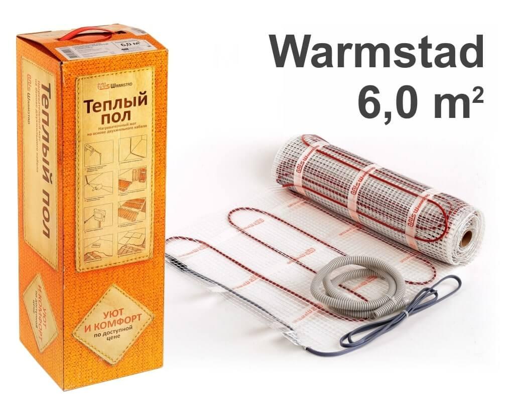 """Warmstad 150 - 6,0 m2 """"Нагревательный мат"""""""