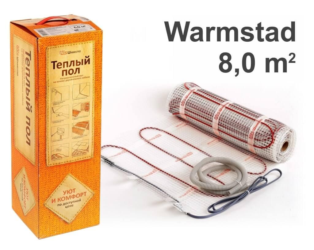 """Warmstad 150 - 8,0 m2 """"Нагревательный мат"""""""