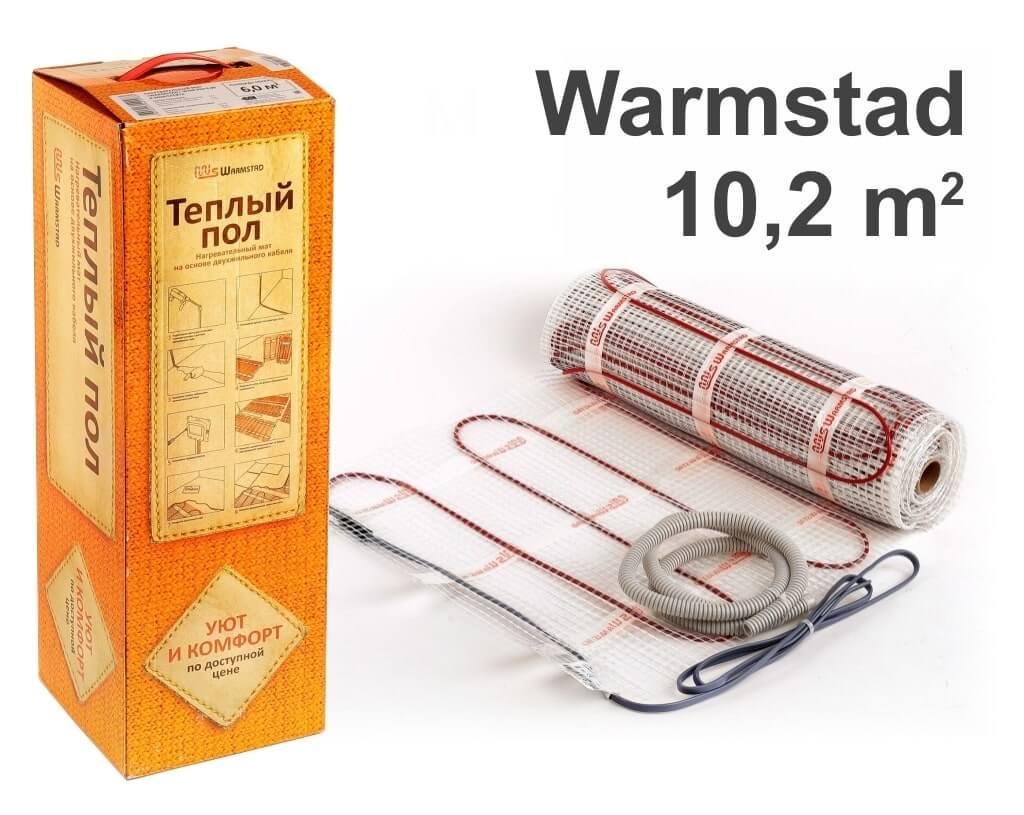 """Warmstad 150 - 10,2 m2 """"Нагревательный мат"""""""