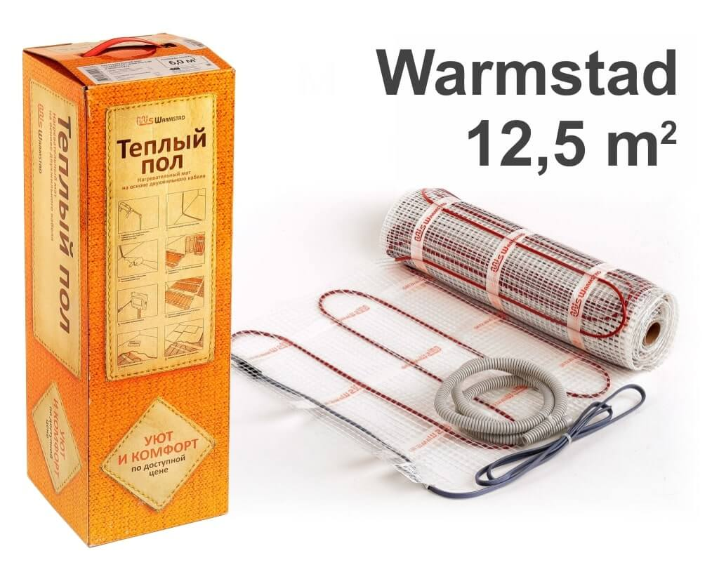 """Warmstad 150 - 12,5 m2 """"Нагревательный мат"""""""