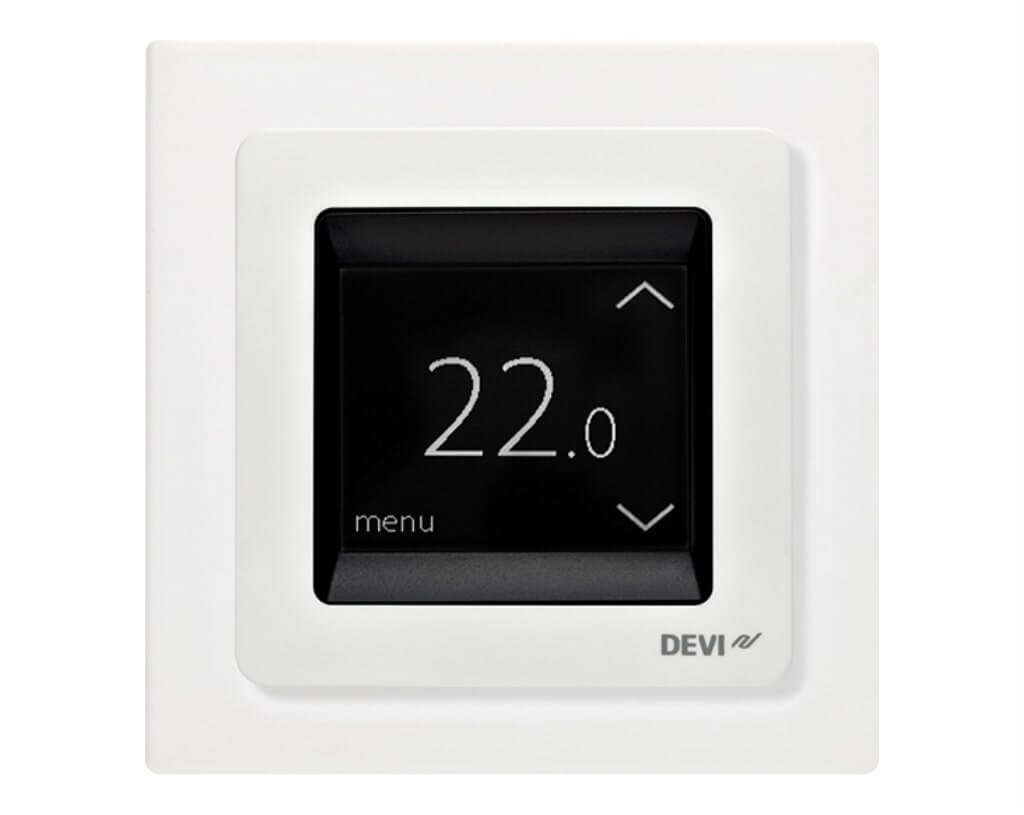 Терморегулятор DEVIreg Touch pure White