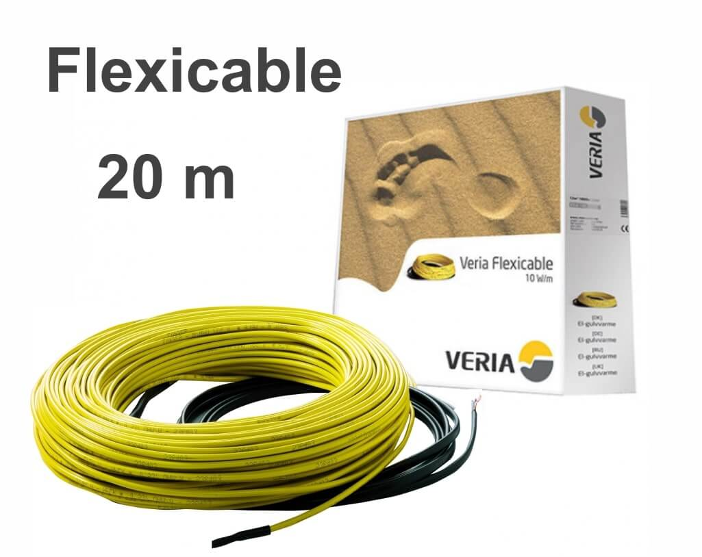 """Veria Flexicable 20 - 20 м/п. """"Нагревательный кабель"""""""