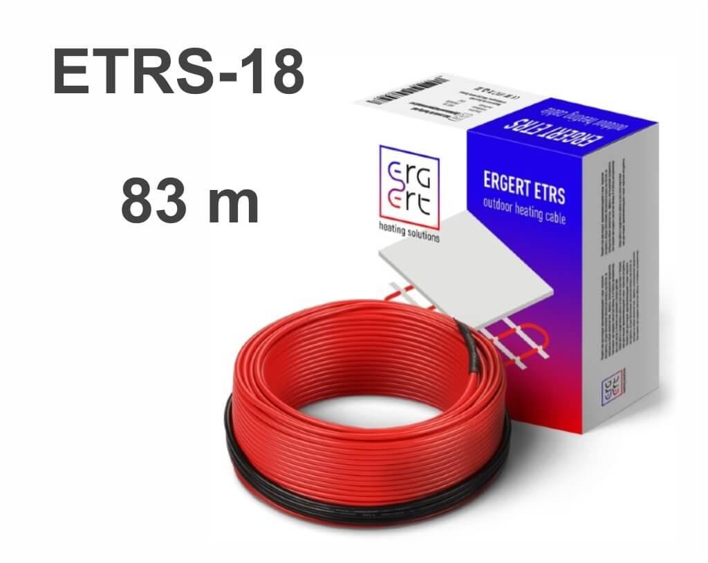 """Ergert ETRS 18 - 83 м/п. """"Нагревательный кабель"""""""