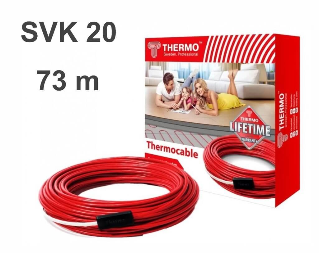 """Thermocable SVK 20 - 73 м/п. """"Нагревательный кабель"""""""
