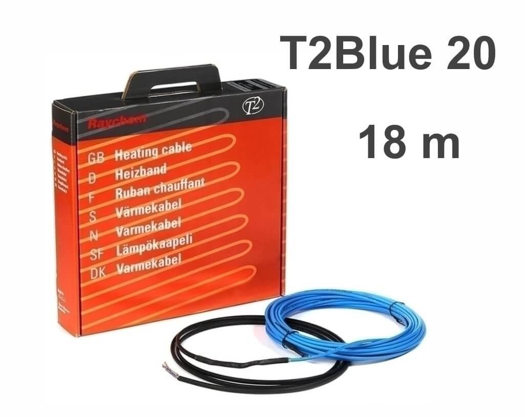 """RAYCHEM T2Blue 20 - 18 м/п. """"Нагревательный кабель"""""""