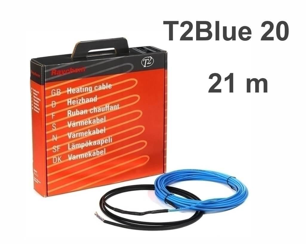 """RAYCHEM T2Blue 20 - 21 м/п. """"Нагревательный кабель"""""""