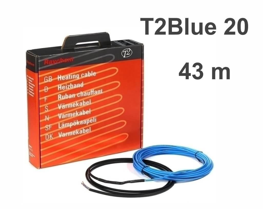 """RAYCHEM T2Blue 20 - 43 м/п. """"Нагревательный кабель"""""""