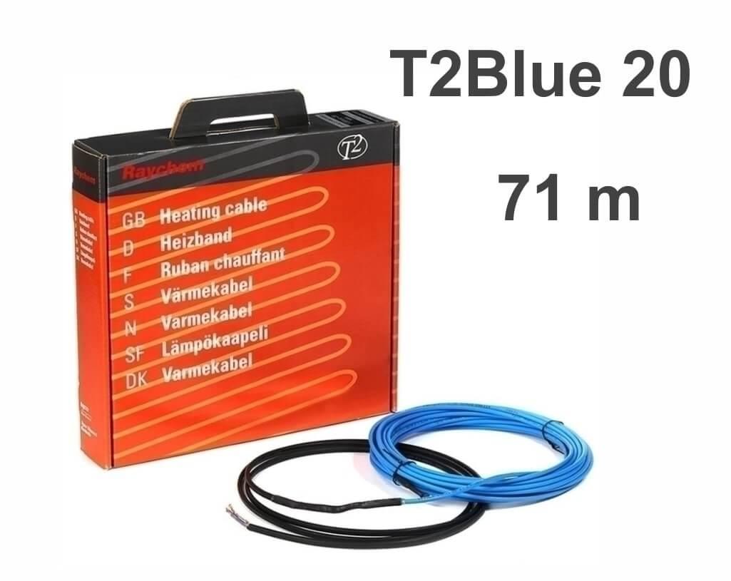 """RAYCHEM T2Blue 20 - 71 м/п. """"Нагревательный кабель"""""""