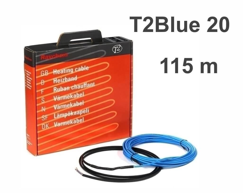 """RAYCHEM T2Blue 20 - 115 м/п. """"Нагревательный кабель"""""""