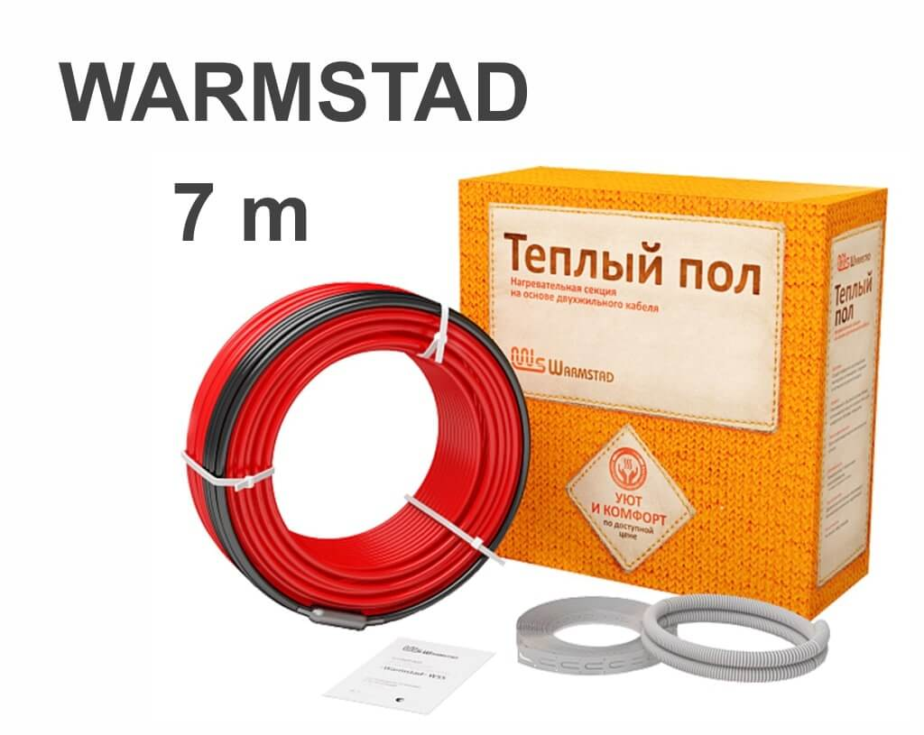 """Warmstad WSS-100 - 7 м/п. """"Нагревательный кабель"""""""