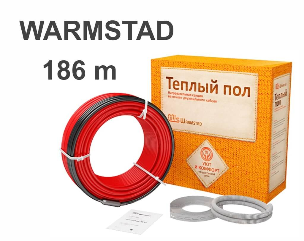 """Warmstad WSS-2800 - 186 м/п. """"Нагревательный кабель"""""""