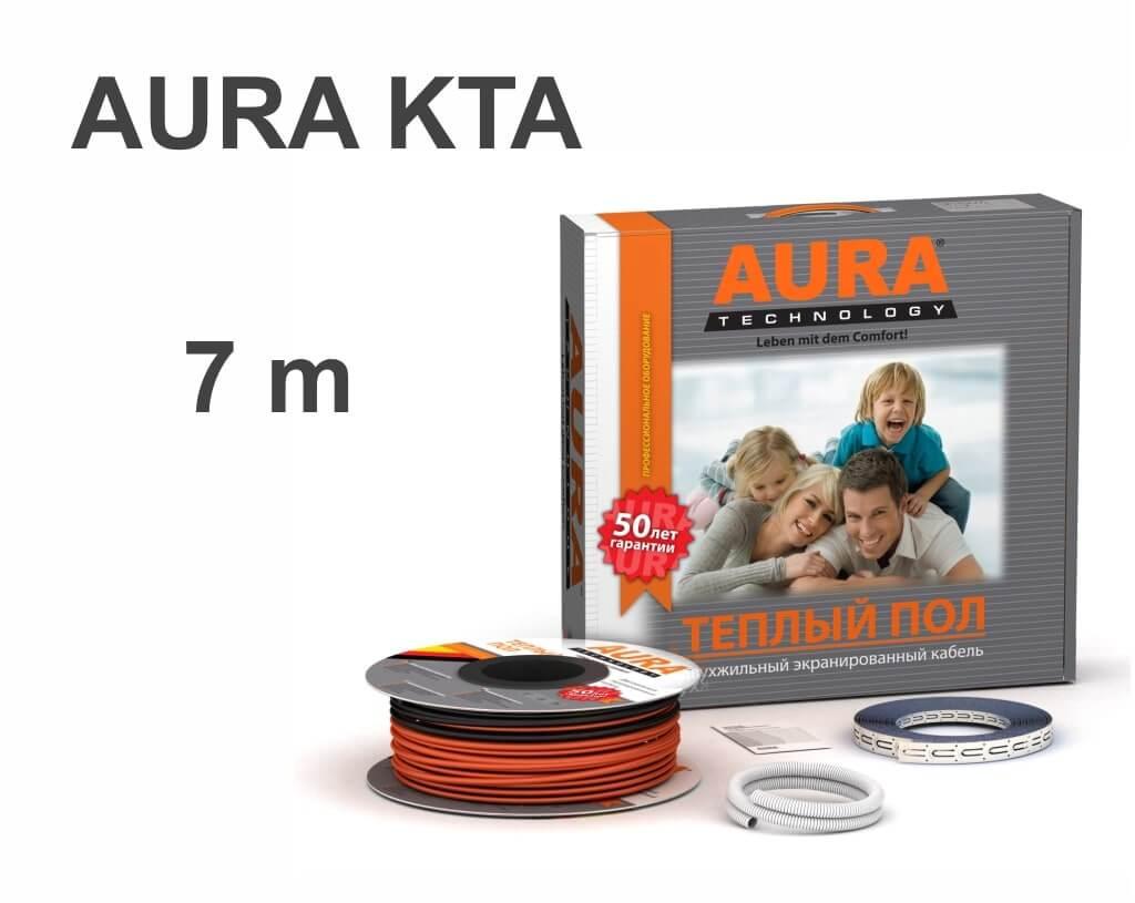 """AURA KTA - 7 м/п. """"Нагревательный кабель"""""""