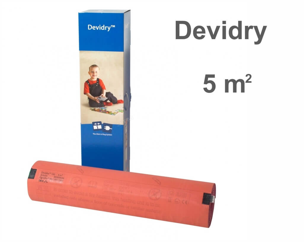 """Devidry 100 - 5 m2 """"Нагревательный мат"""""""