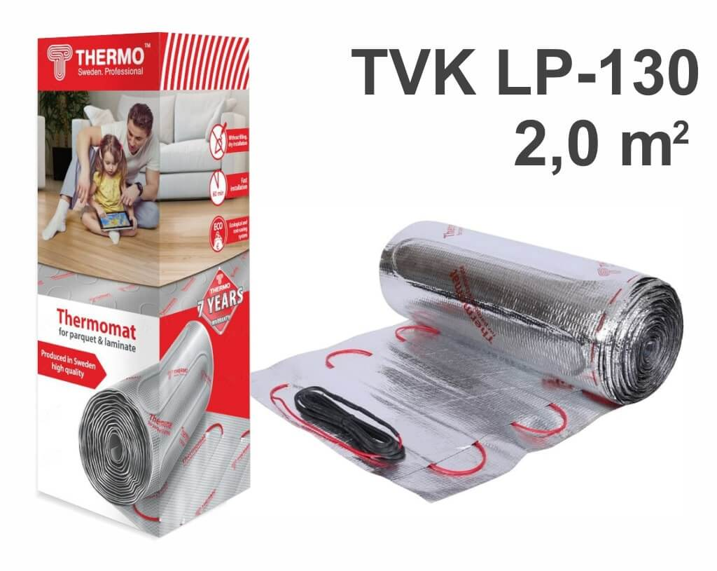 "Thermomat TVK LP 130 - 2,0 m2 ""Нагревательный мат"""