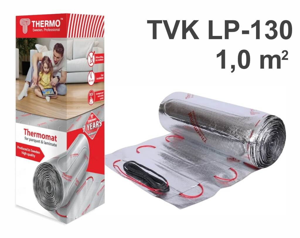 "Thermomat TVK LP 130 - 1,0 m2 ""Нагревательный мат"""