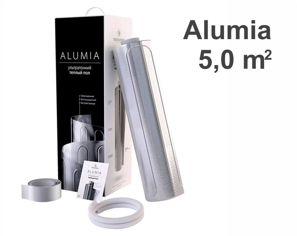 """Теплолюкс Alumia - 5,0 m2 """"Нагревательный мат"""""""