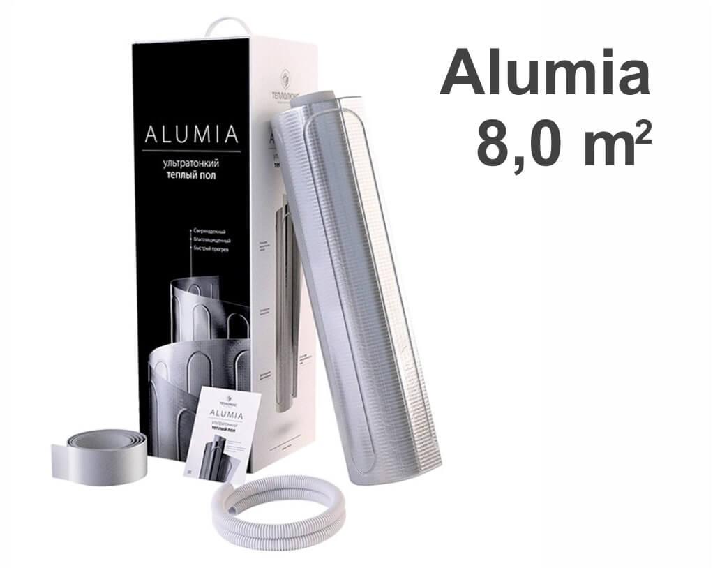 """Теплолюкс Alumia - 8,0 m2 """"Нагревательный мат"""""""