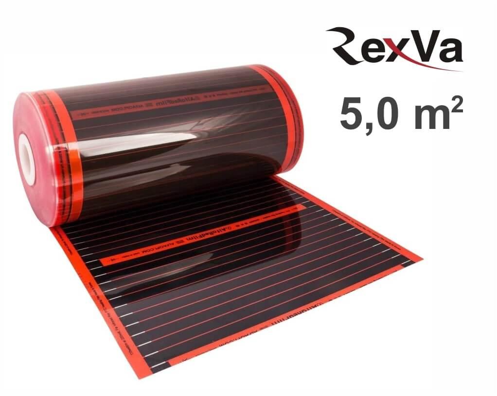 """ИК пленка Rexva PTC-50 50 см. - 5,0 кв.м. """"Нагревательная пленка"""""""
