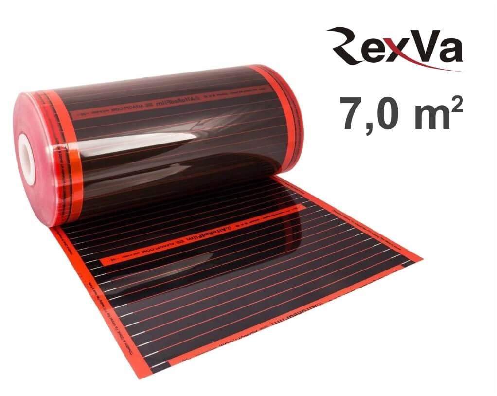 """ИК пленка Rexva PTC-50 50 см. - 7,0 кв.м. """"Нагревательная пленка"""""""