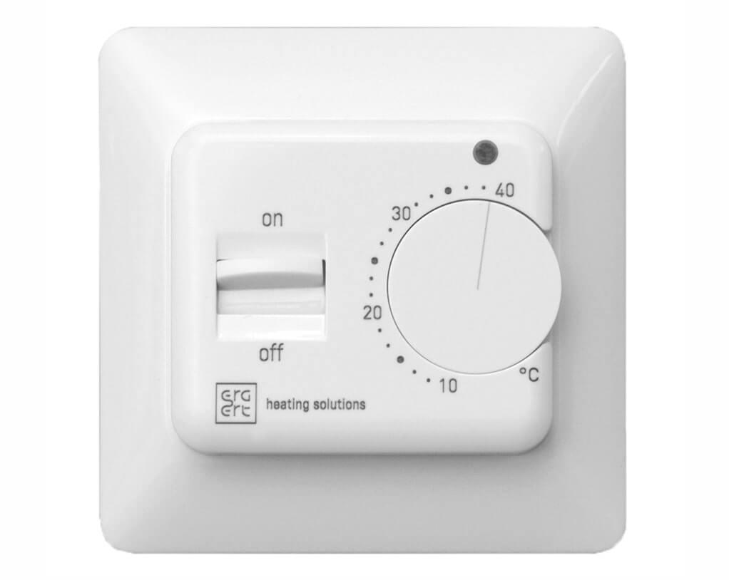 Терморегулятор Ergert FLOOR CONTROL 110 white