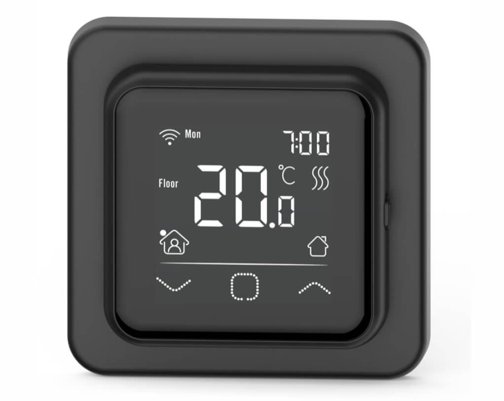 Терморегулятор Ergert FLOOR CONTROL 360 black