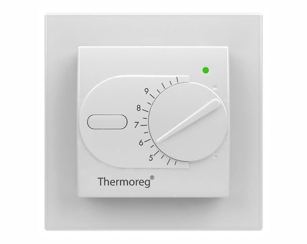 Терморегулятор Thermoreg TI-200 white Design