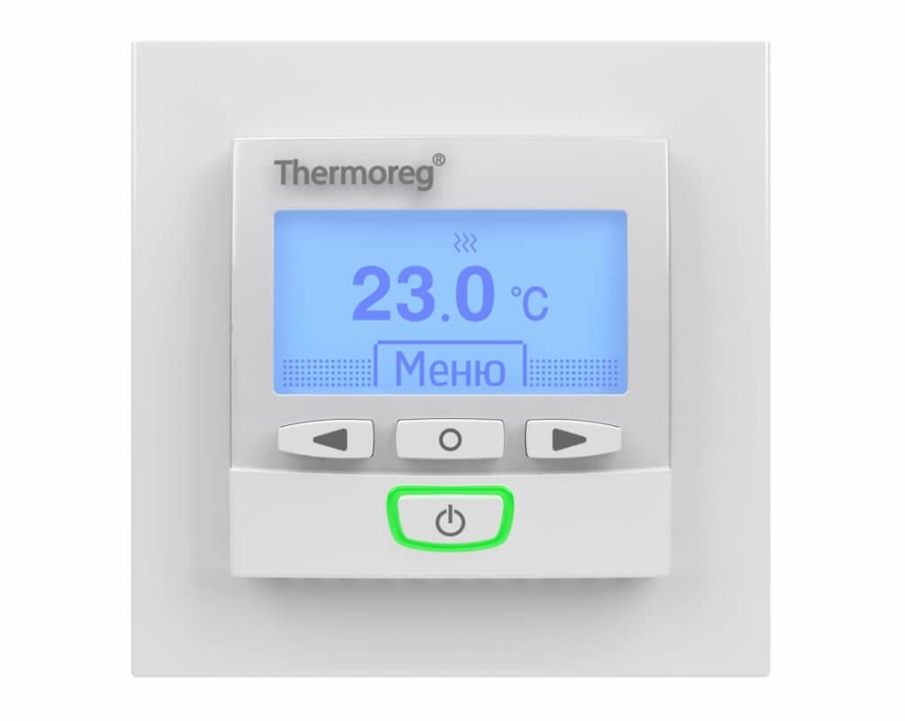Терморегулятор Thermoreg TI-950 white Design