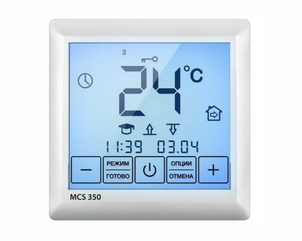 Терморегулятор Теплолюкс MCS 350 белый