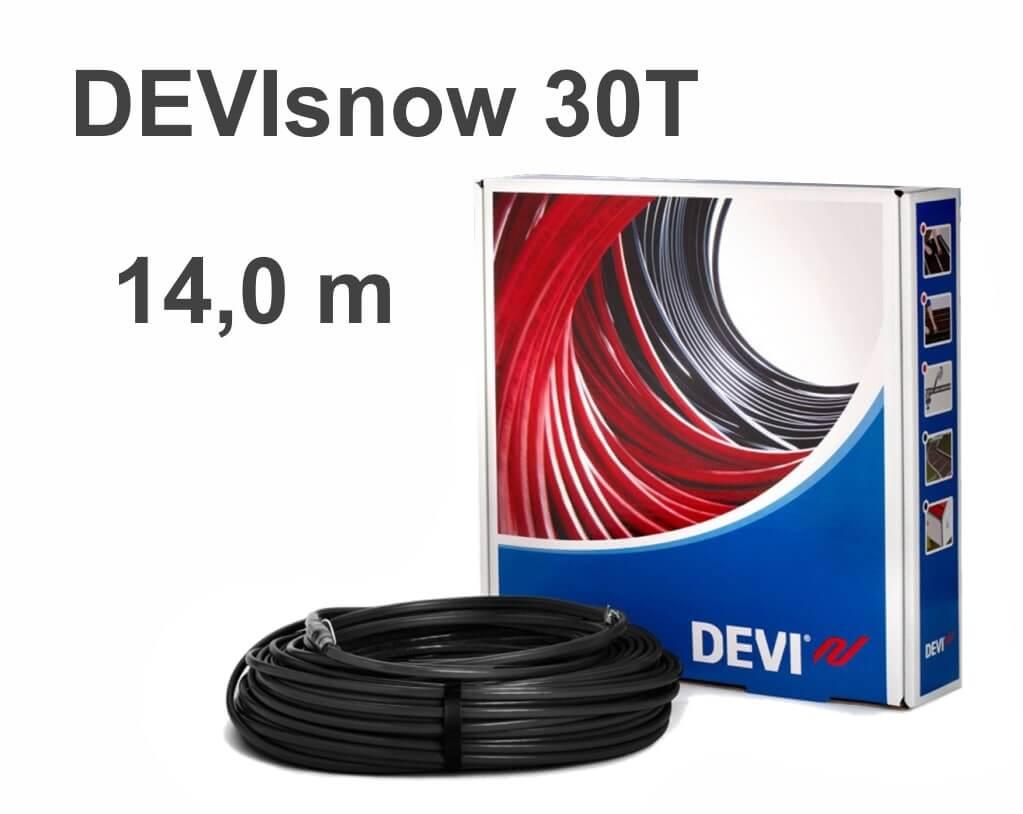 """DEVIflex DEVIsnow 30T (DTCE-30) - 14 м """"Нагревательный кабель"""""""