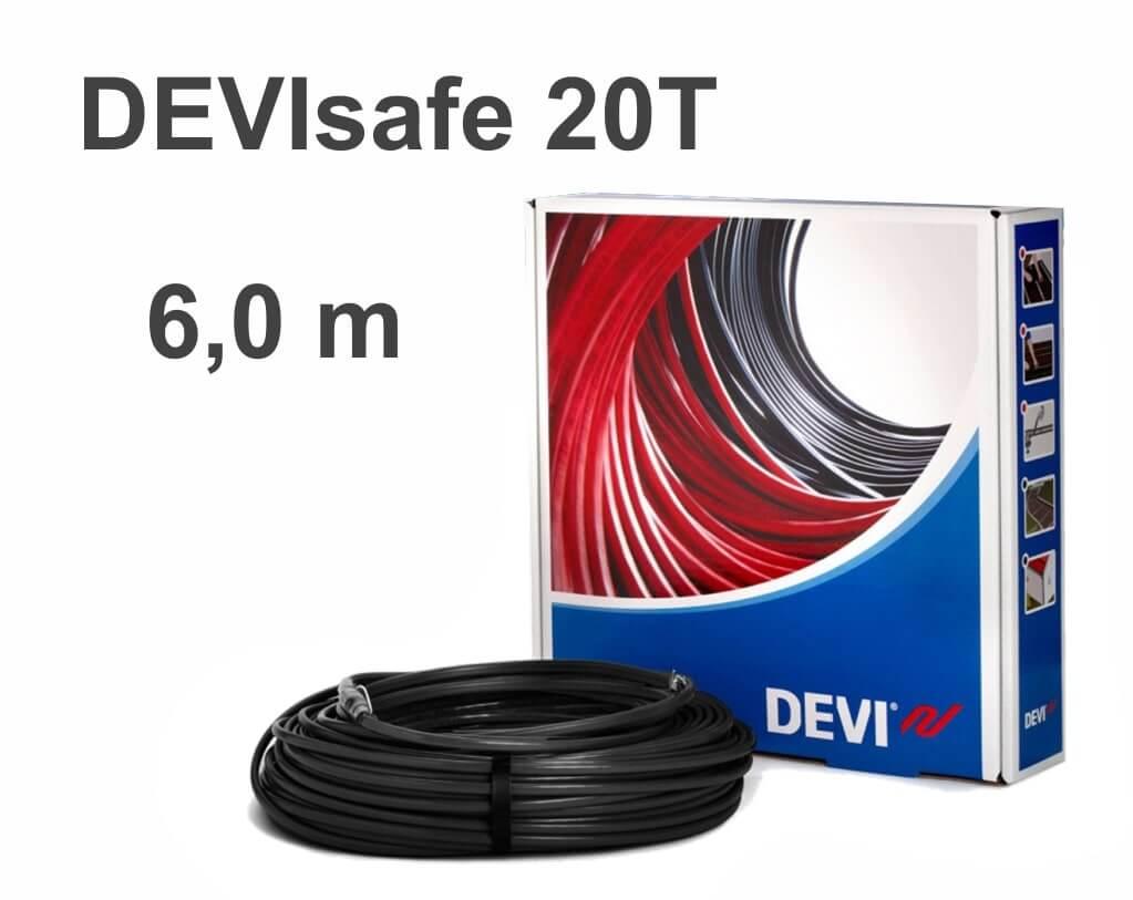 """DEVIflex DEVIsafe 20T - 6 м """"Нагревательный кабель"""""""